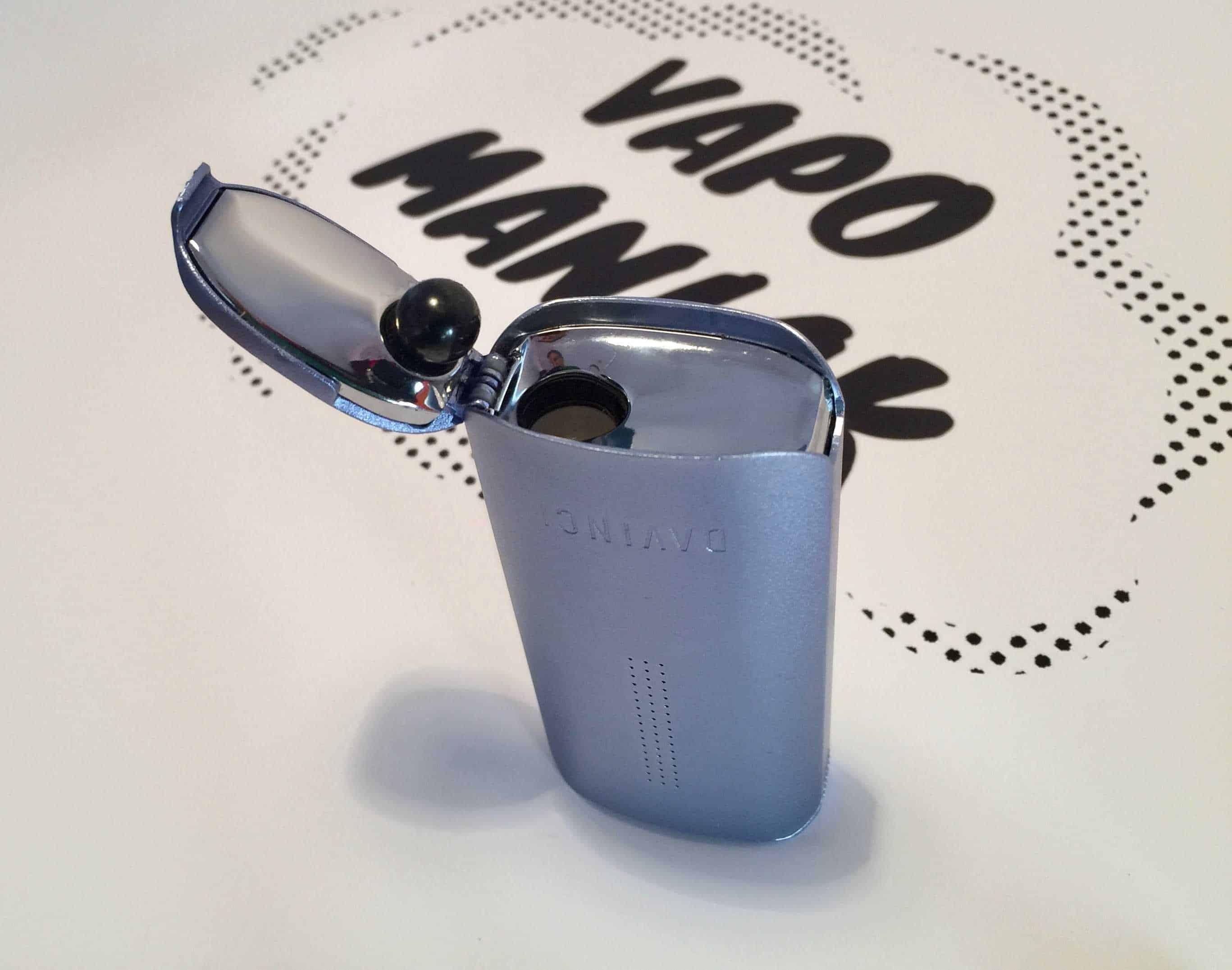 Komora grzewcza jest umiejscowiona na dole vaporizera, co wydłuża ścieżkę pary.