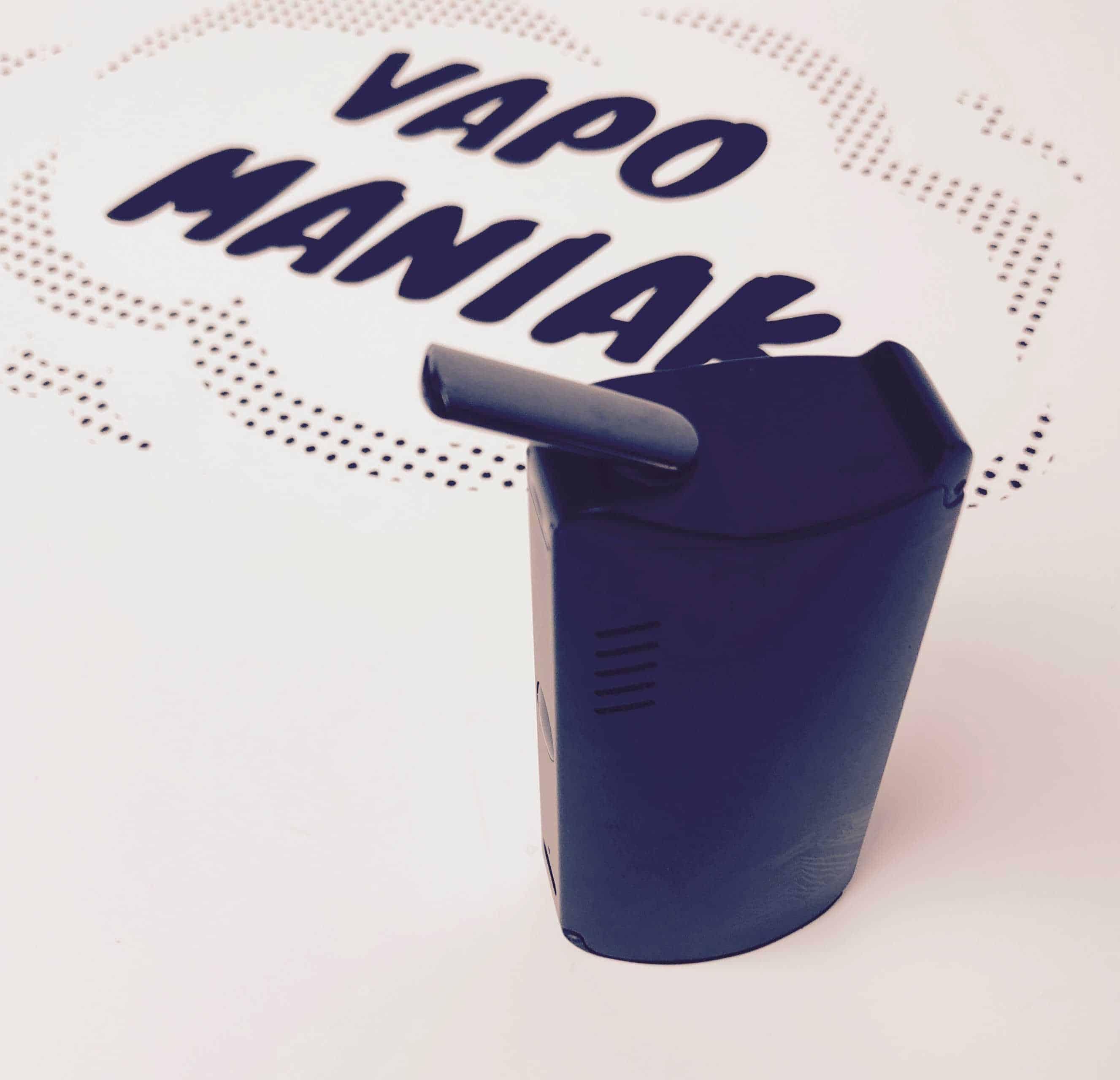 XVape Fog Vaporizer Ceramiczny ustnik zapewnia świetny smak pary.