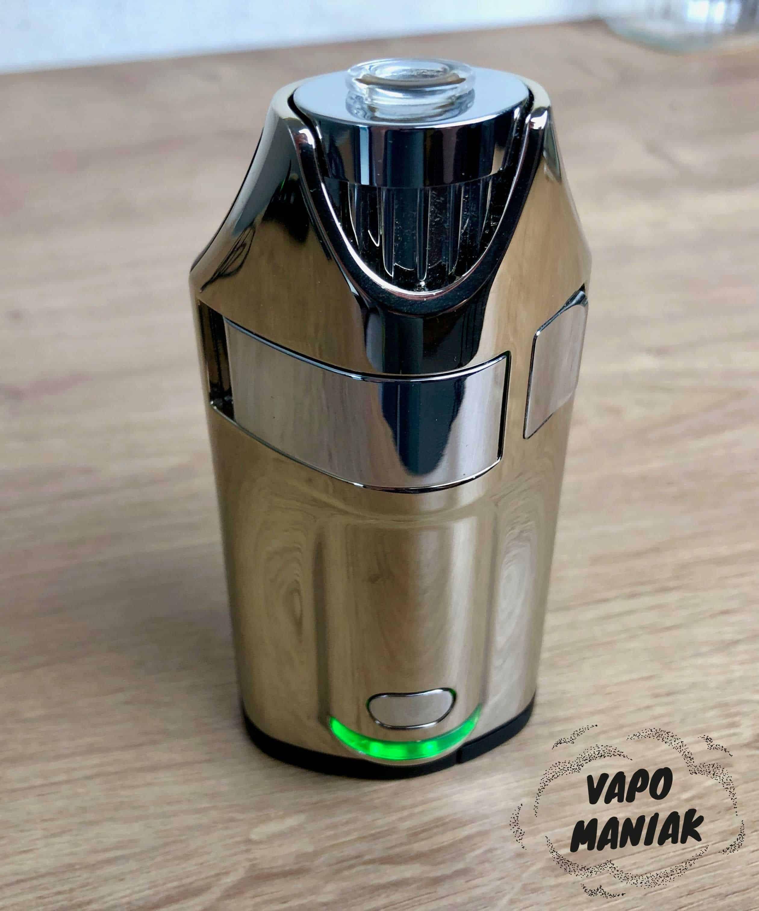 Ghost MV1 wersja Stealth pokryta czarnym matowym lakierem.