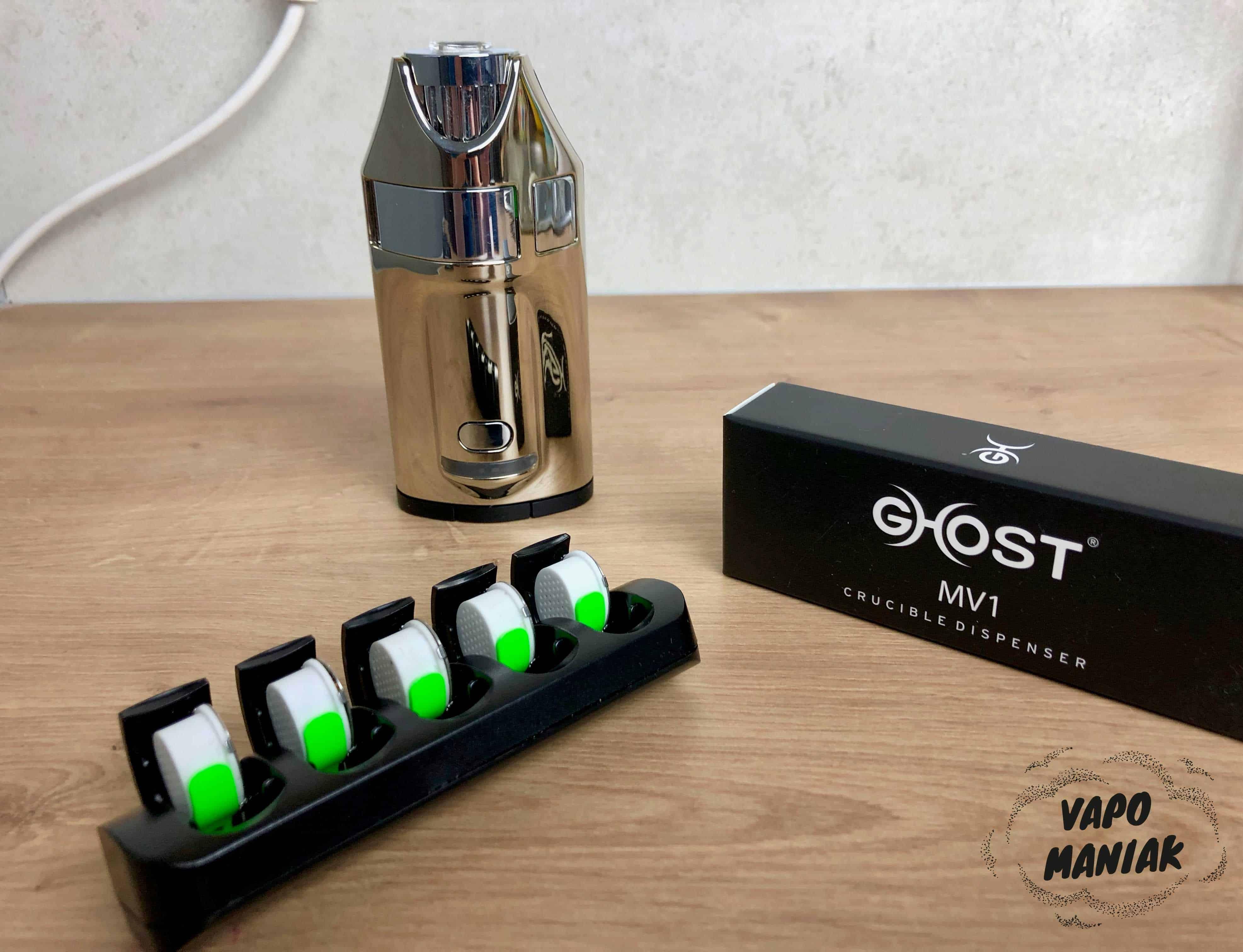 Kapsułki wymienne Ghost MV1
