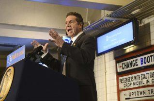 Andrew Coumo gubernator Nowego Jorku rozpoczyna legalizację marihuany.