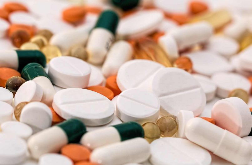 Kolorowe tabletki