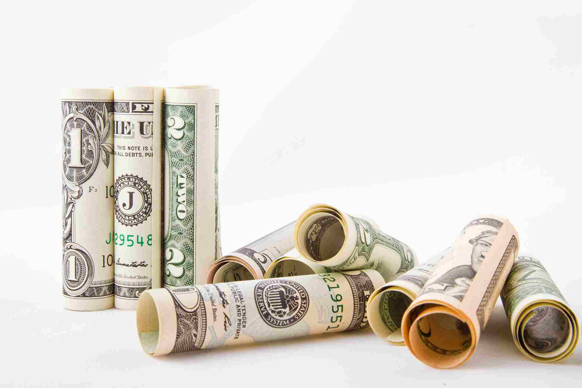 Banknoty dolarów