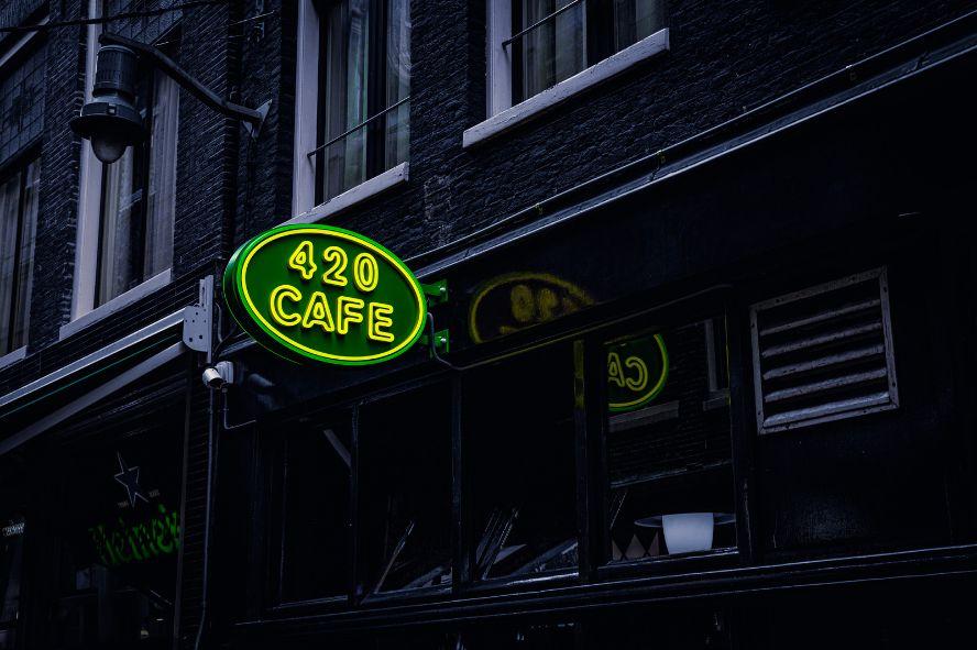 Neon kawiarnii