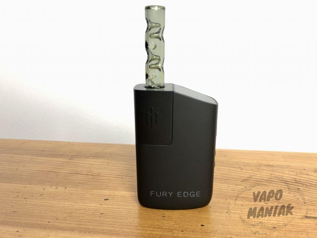 FURY EDGE z ustnikiem 3D od VapCap'a.