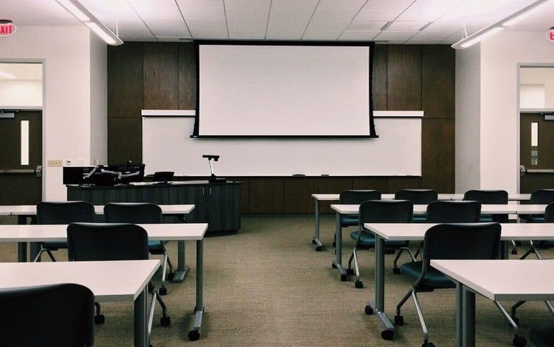 Sala na uniwersytecie