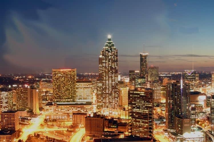 Atlanta nocą