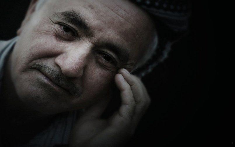 Starszy mężczyzna ujęcie twarzy