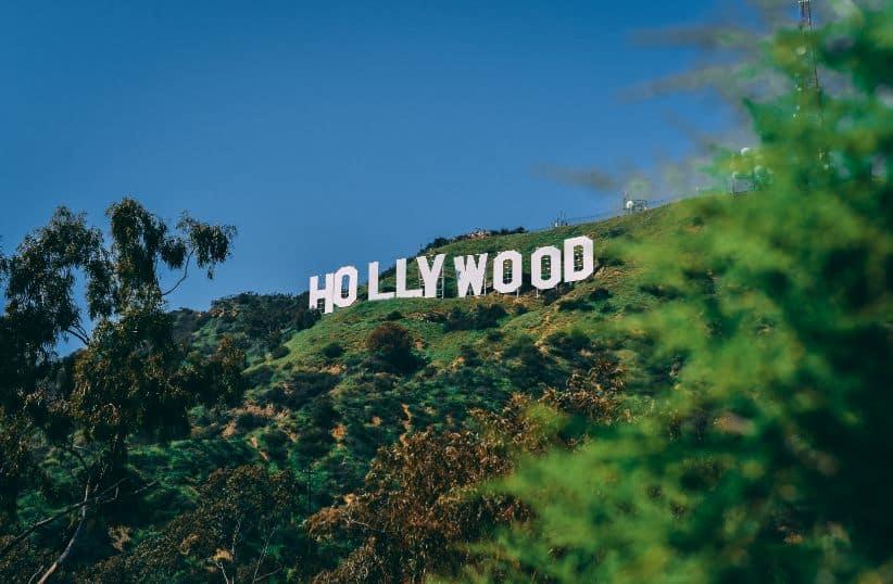 Tablica z napisem Hollywood