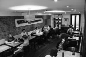 Kawiarnia w Nowym Jorku
