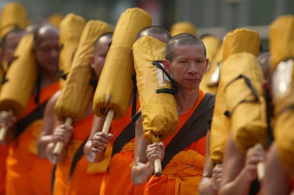 Mnisi buddyjscy