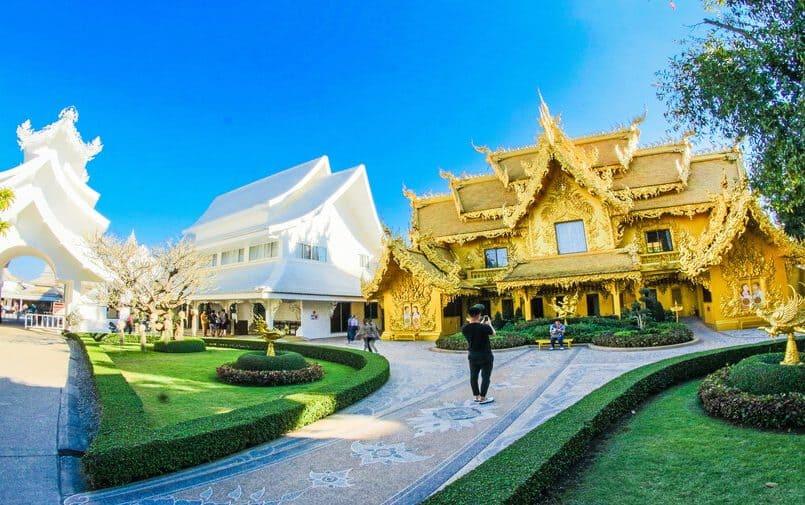 Złote świątynie w Tajlandii