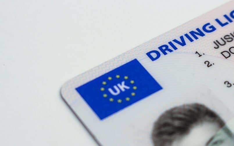 Brytyjskie prawo jazdy