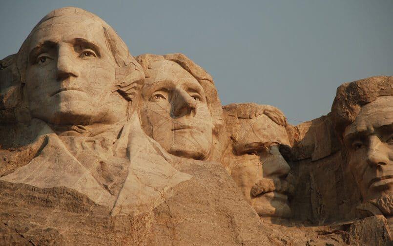 Postaci prezydentów w Mount Rushmore