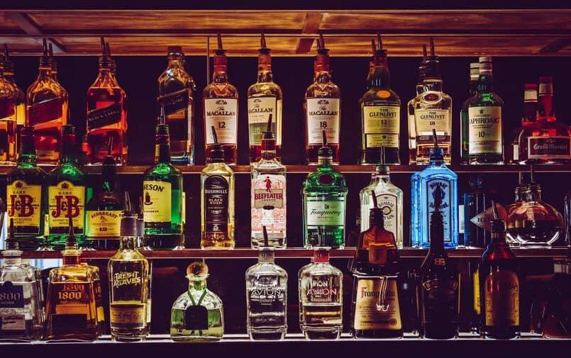 Alkohol na półce