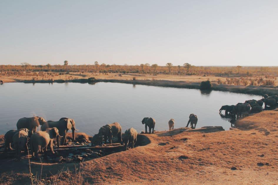Krajobrazy Zimbabwe