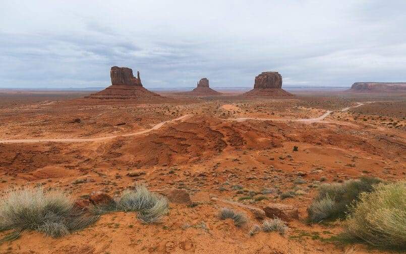 Monument Valley w Arizonie