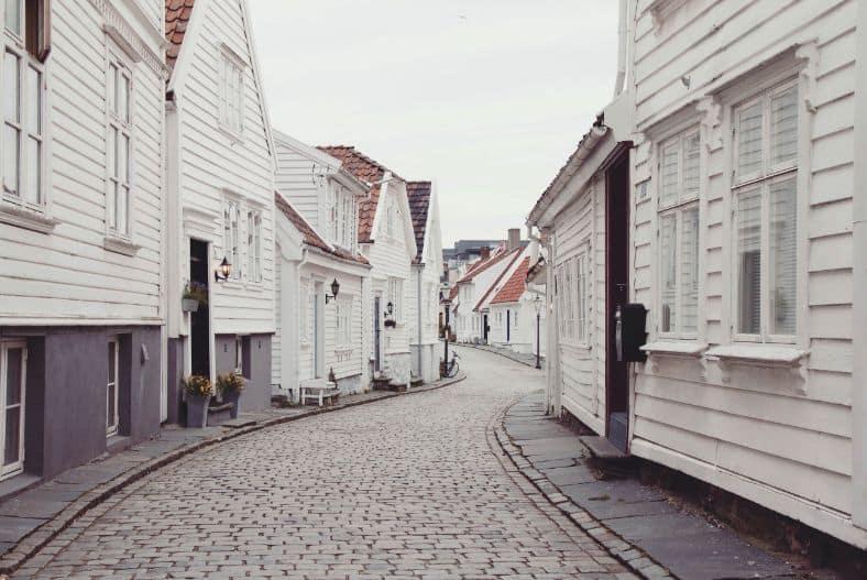 Uliczki Stavanger