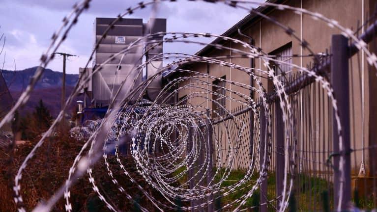Ogrodzenie więzienne