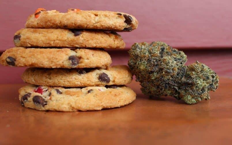 Babeczki z marihuaną