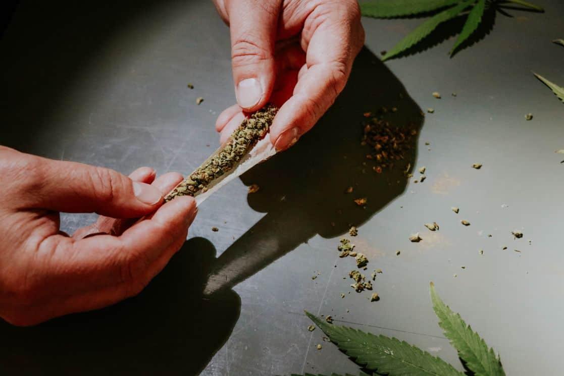 Skręt marihuana