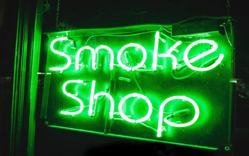 Smoke shop szyld