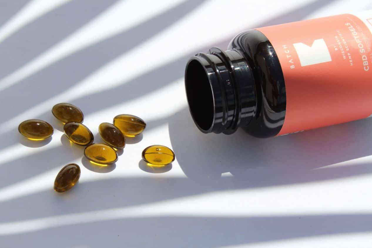 Kapsułki z olejem CBD