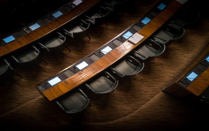 Wnętrze kongresu