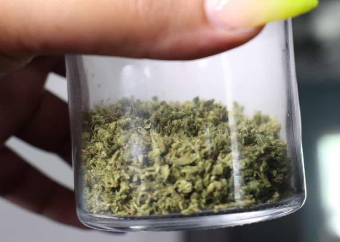 Marihuana w słoiczku