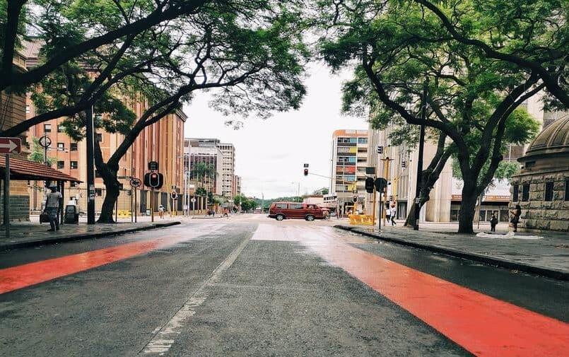 Ulice Pretorii