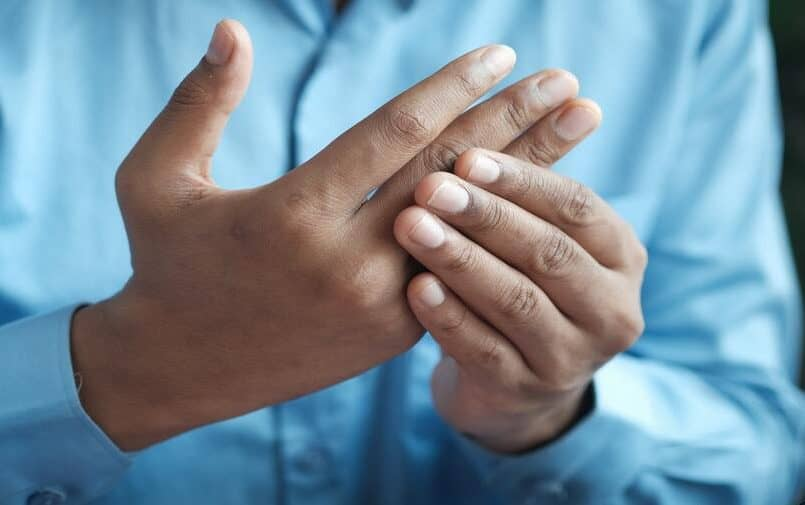 Ręce mężczyzny